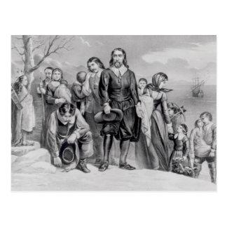 The Landing of the Pilgrims Postcard