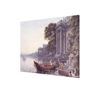 The Landing Stage Canvas Print