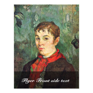 The Landlord S Daughter By Gauguin Paul Personalized Flyer