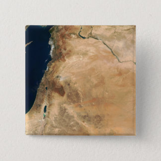 The lands of Israel along the eastern shore 15 Cm Square Badge