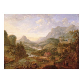 The Landscape of The Rhine Card