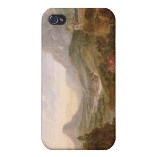 The Landscape of The Rhine iPhone 4 Cover