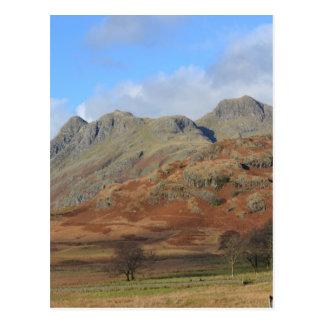 The Langdale Pikes, English Lake District Postcard