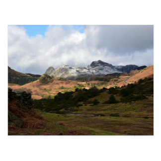 The Langdale Pikes, English Lake District Postcard