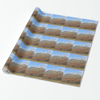 The Langdale Pikes, English Lake District Wrapping Paper