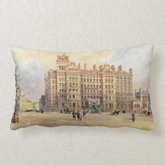 The Langham Hotel, Portland Place, London W. Lumbar Pillow