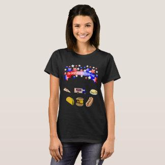 The large American gourmet celebration T-Shirt