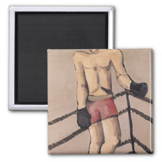 The Large Boxer Square Magnet