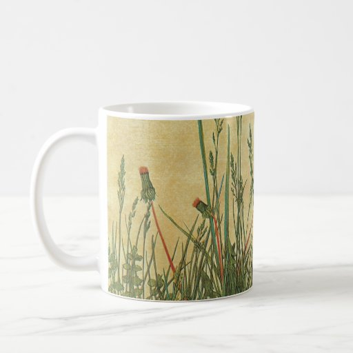 The Large (Great) Piece of Turf by Albrecht Durer Mugs