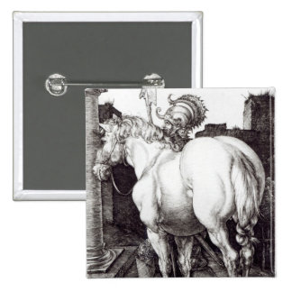 The Large Horse, 1509 15 Cm Square Badge