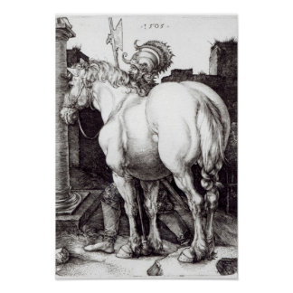 The Large Horse, 1509 Poster