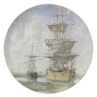 The Large Ship, 1879 (oil on canvas) Plate