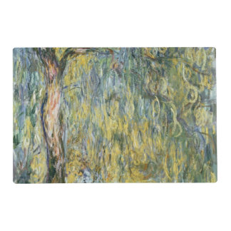 The Large Willow at Giverny, 1918 Laminated Place Mat