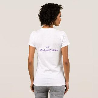 The Lash Pretties T Shirt White
