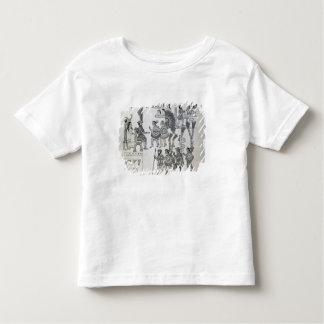 The last Aztec Emperor Cuauhtemoc surrenders Toddler T-Shirt