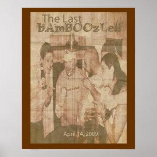 The Last Bamboozle Retro Poster