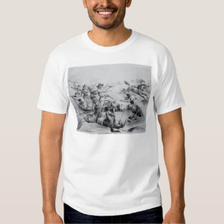 The Last Battle of General Custer Tee Shirts
