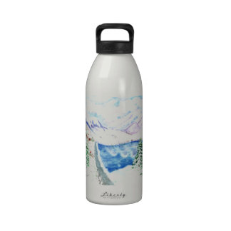The Last Christmas Tree Water Bottle