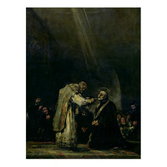 The Last Communion of St. Joseph Calasanz Postcard