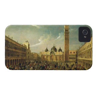 The Last Day of the Carnival, St. Mark's Square, V iPhone 4 Covers