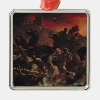 The Last Days of Pompeii Christmas Ornament