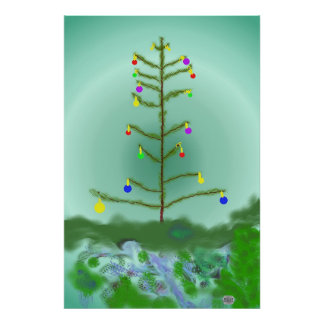 The Last Decorated Tree Poster