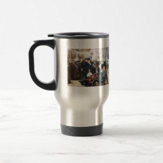 The last evening by James Tissot Coffee Mug