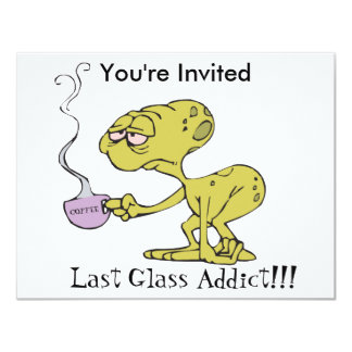 The Last Glass Addict Personalized Announcement