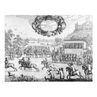 The Last Horse Race run Postcard