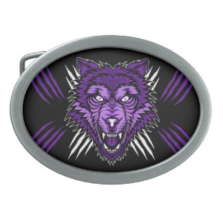 THE LAST HOWL OVAL BELT BUCKLES