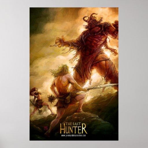 The Last Hunter - Sol & Kainda vs Eshu Print