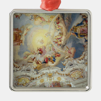 The Last Judgement, ceiling painting Christmas Ornament
