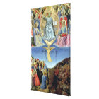 The Last Judgement, central panel from a Triptych Canvas Print