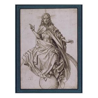 The Last Judgement (detail) by Hieronymus Bosch Postcard