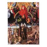 The Last Judgement. Hans Memling; c. 1467-1471 Postcard