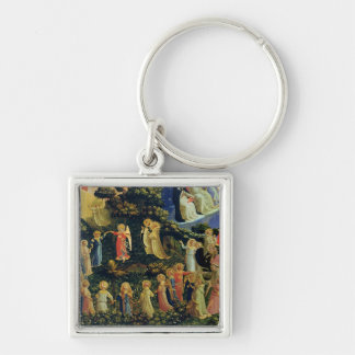 The Last Judgement Silver-Colored Square Key Ring