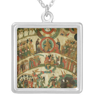 The Last Judgement Silver Plated Necklace