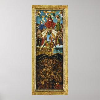 The Last Judgment by Jan Van Eyck Poster