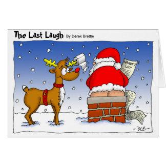 The Last Laugh - Christmas Card