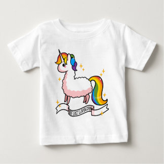 The Last Llamacorn Baby T-Shirt