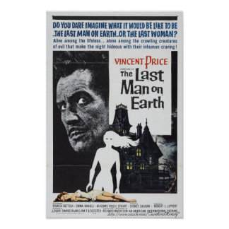 The Last Man on Earth 1964 Movie Poster