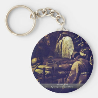 The Last Rites By Crespi Giuseppe Maria Keychains