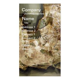 The last shape business card template