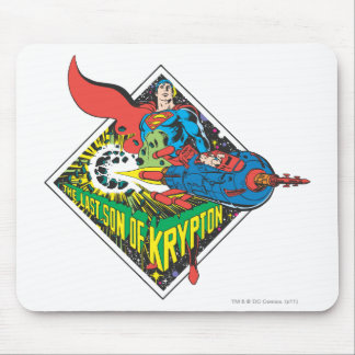 The Last Son of Krypton Mouse Mat