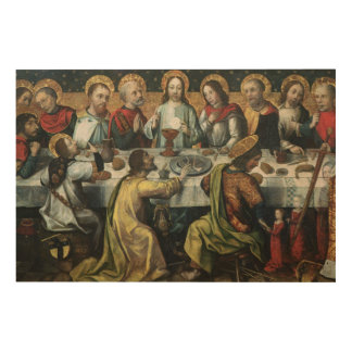 The Last Supper, 1482 Wood Print