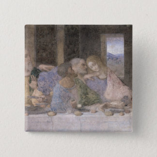The Last Supper, 1495-97 3 15 Cm Square Badge