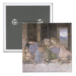 The Last Supper, 1495-97 3 15 Cm Square Badge