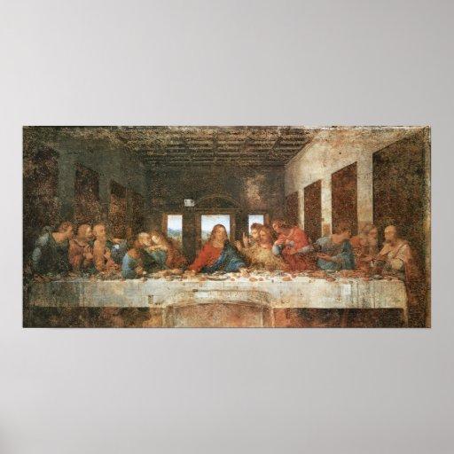 The Last Supper, 1495-97, Leonardo da Vinci Poster