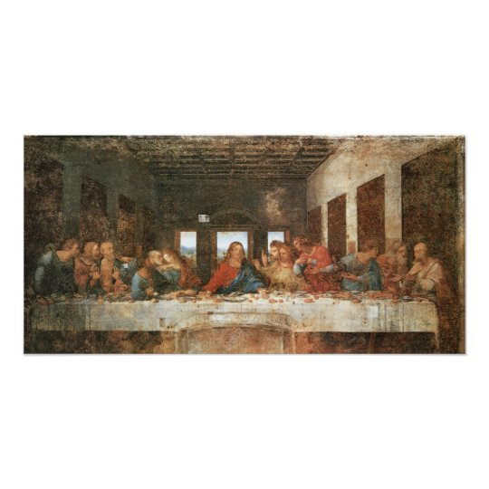 The Last Supper, 1495-97, Leonardo da Vinci Poster