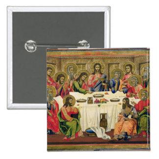The Last Supper 15 Cm Square Badge